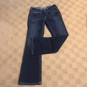 Size 27R Ariat Jeans